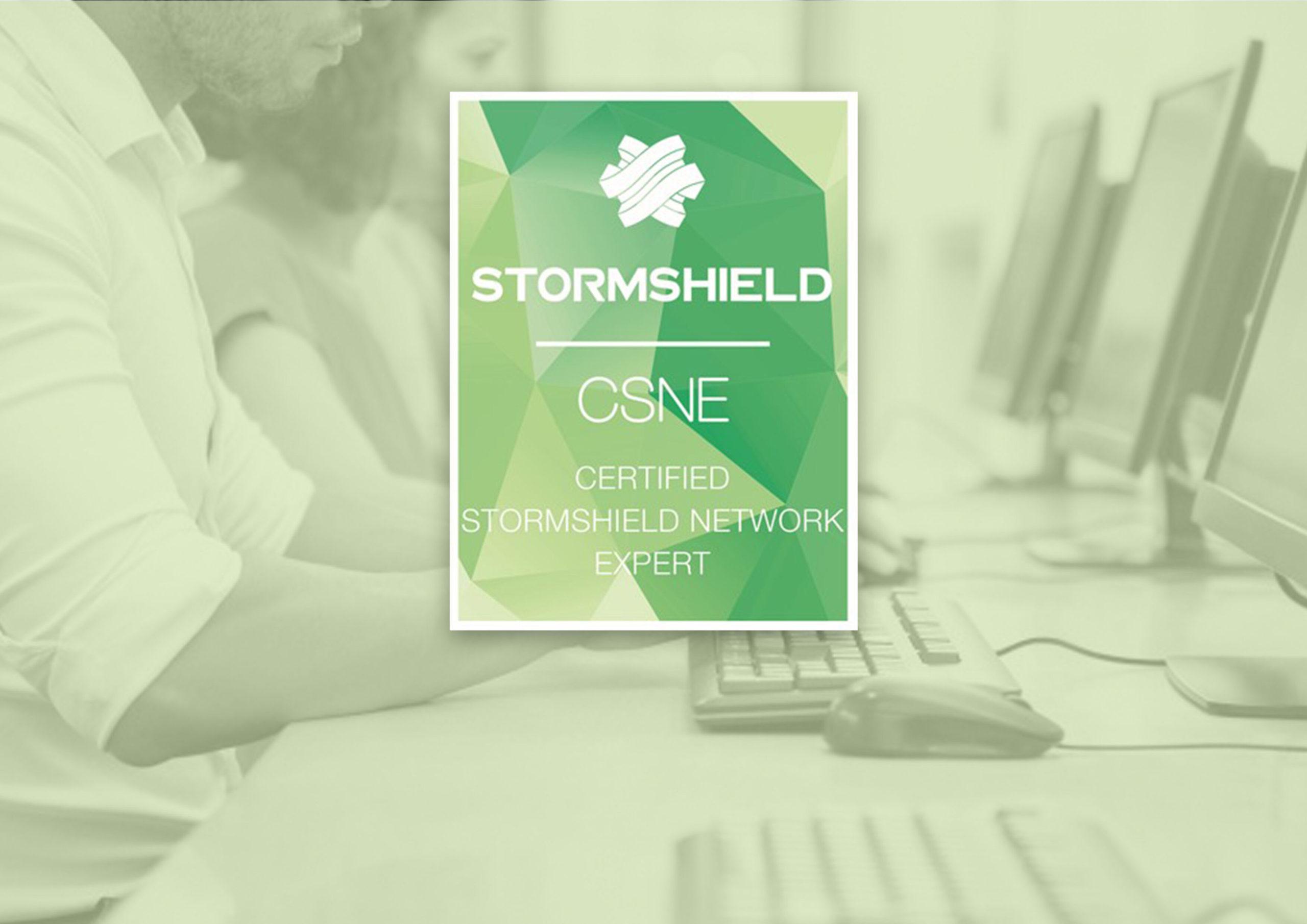 Renouvellement de la certification Stormshield Network Expert
