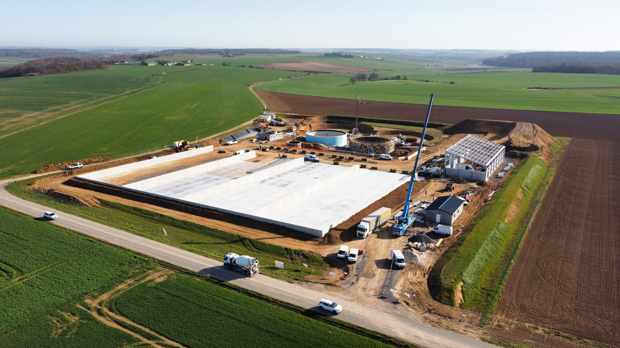 Site actuellement en cours de construction - 246 Nm3h (1)-MODIF